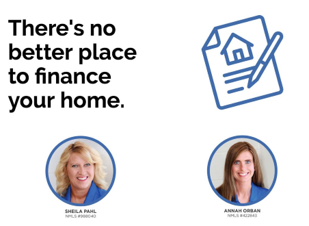 Annah and Sheila Mortgage Promotion  - There's No better place to finance your home.